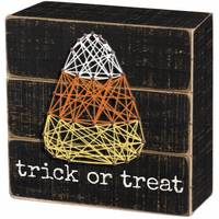 Primitives By Kathy Trick or Treat String Art Block from Blain's Farm and Fleet