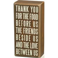 Primitives By Kathy Thank You Box Sign from Blain's Farm and Fleet