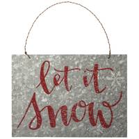 Primitives By Kathy Let It Snow Sign from Blain's Farm and Fleet