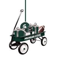 Evergreen Enterprises Michigan St.Spartans Team Wagon Ornament from Blain's Farm and Fleet