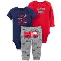 Carter's Infant Boys' Red LBB 3-Piece Firetruck TMA Set from Blain's Farm and Fleet