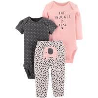 Carter's Infant Girls' Pink Elephant LBB 3-Piece TMA Set from Blain's Farm and Fleet