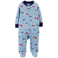 Carter's Infant Boys' Sleep & Play Trucks & Planes Blue from Blain's Farm and Fleet