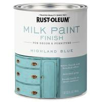 Rust-Oleum Highland Blue Milk Paint from Blain's Farm and Fleet