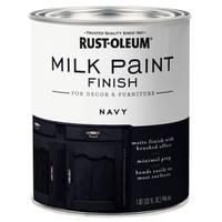 Rust-Oleum Navy Milk Paint from Blain's Farm and Fleet