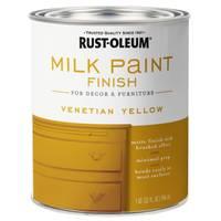 Rust-Oleum Venetian Yellow Milk Paint from Blain's Farm and Fleet