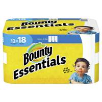 Bounty 12-Pack Essentials Paper Towel Giant Roll from Blain's Farm and Fleet