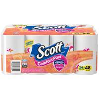 Scott 24-Count Comfort Plus Bath Tissue from Blain's Farm and Fleet