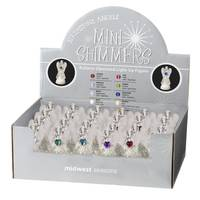 Midwest-CBK Lighted LED Birthstone Angel Shim Assortment from Blain's Farm and Fleet
