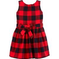 Carter's Toddler Girls' Plaid Dress Red & Black from Blain's Farm and Fleet