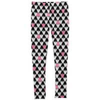 Carter's Girl's Black & White & Red Heart Leggings from Blain's Farm and Fleet