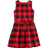 Carter's Big Girls' Plaid Dress Red & Black from Blain's Farm and Fleet