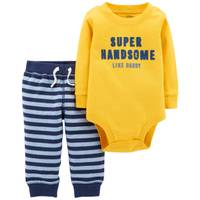 Carter's Infant Boys' Yellow Super Handsome Set from Blain's Farm and Fleet