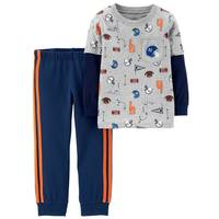 Carter's Toddler Boys' Navy 2-Piece Sport Top & Pants Set from Blain's Farm and Fleet