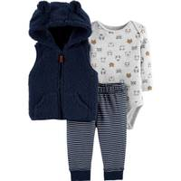Carter's Infant Boys' Navy 3-Piece Vest Set from Blain's Farm and Fleet