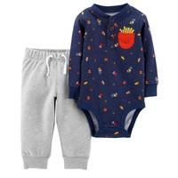 Carter's Infant Boys' Navy Food Set from Blain's Farm and Fleet