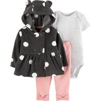 Carter's Infant Girls' Charcoal Cardigan Set from Blain's Farm and Fleet