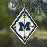 The Memory Company Michigan Art Glass Ornament from Blain's Farm and Fleet
