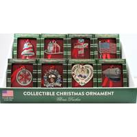 Gloria Duchin Inc. Patriotic Collectible Ornament Assorted from Blain's Farm and Fleet