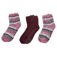 Huffman Hosiery Women's Multi-Stripe Cozy Socks - 3 Pack from Blain's Farm and Fleet