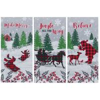 Kay Dee Designs Festive Holiday Tea Towel Assortment from Blain's Farm and Fleet