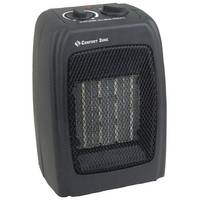 Comfort Zone Personal Ceramic Heater Black from Blain's Farm and Fleet