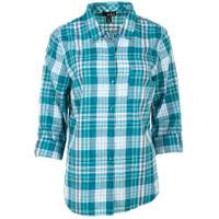 Erika Misses' Esme Autimnal Plaid Deep Teal from Blain's Farm and Fleet
