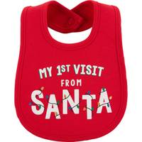 Carter's Baby's 1st Visit From Christmas Bib from Blain's Farm and Fleet