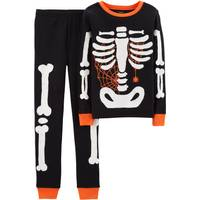 Carter's Boys' Halloween Ghost 2-Piece Pajamas Black from Blain's Farm and Fleet