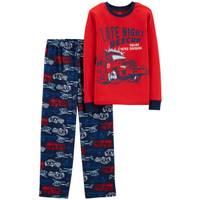 Carter's Big Boys' 2-Piece Fleece  Rescue Divison Pajamas Navy from Blain's Farm and Fleet