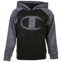 Champion Little Boys' Logo C Pullover Hoodie Oxford Heather from Blain's Farm and Fleet