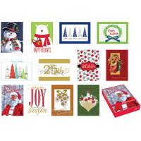 Expressive Designs 16 Count Season's Memories Boxed Cards Assortment from Blain's Farm and Fleet