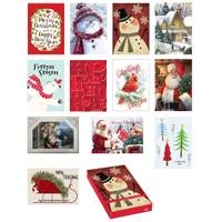 Expressive Designs 18 Count Holiday Memories Boxed Cards Assortment from Blain's Farm and Fleet