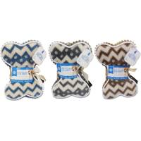 European Home Design 2-Piece AKC Chevron Blanket & Bone Set Assortment from Blain's Farm and Fleet