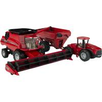 Tomy 1:32 Case IH Combine Harvesting Set from Blain's Farm and Fleet