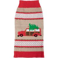 Mission Pets Christmas Tree and Car Fair Isle Sweater from Blain's Farm and Fleet