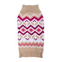 Mission Pets Oatmeal Diamonds Fair Isle Sweater from Blain's Farm and Fleet