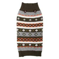 Mission Pets Olive Multi Fair Isle Sweater from Blain's Farm and Fleet