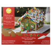 Wilton Unassembled Petite Gingerbread House from Blain's Farm and Fleet