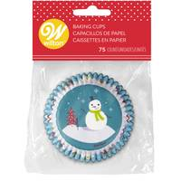 Wilton 75-Count Snowman & Friends Baking Cup from Blain's Farm and Fleet