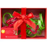 Wilton 10-Piece Plastic Cookie Cutter Box Set from Blain's Farm and Fleet