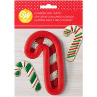 Wilton Candy Cane Comfort Grip Cookie Cutter from Blain's Farm and Fleet