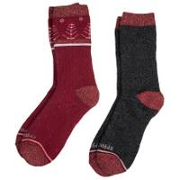 Columbia Misses' 2-Pack Trees Thermal Crew Socks from Blain's Farm and Fleet