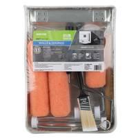 Shur-Line 11-Piece Pink Knit Trayset from Blain's Farm and Fleet