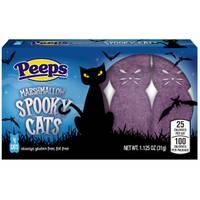 Peeps 4-Count Purple Spooky Cats from Blain's Farm and Fleet