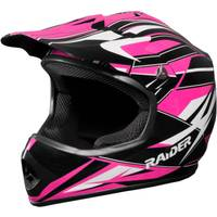Raider Pink GX3 Youth MX Helmet from Blain's Farm and Fleet