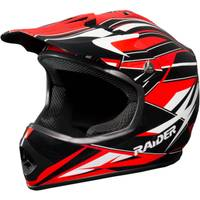 Raider Red GX3 Youth MX Helmet from Blain's Farm and Fleet