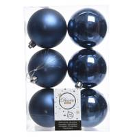 Kaemingk International 6-Piece 80mm Night Blue Shatterproof Ornaments from Blain's Farm and Fleet