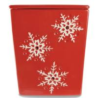 Tuscany Candle Red with White Snowflake Frag Warmer from Blain's Farm and Fleet