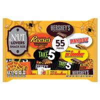 Hershey's 55-Piece Nut Lovers Snack Size Bag from Blain's Farm and Fleet